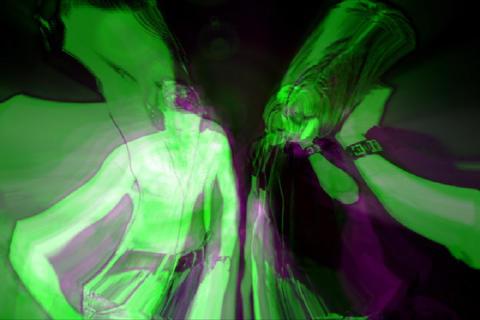 Duo DJs Stock Video Footage