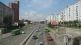 Krasnoyarsk City Traffic Timelapse Footage