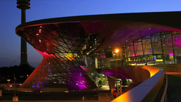 Germany, BMW World In Munch stock footage