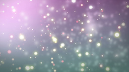 Moving Gloss Particles On Color Background Animation