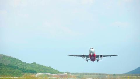 AirAsia Airbus 320 take-off Footage