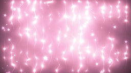 Energy pink waves particles and lines Animation