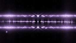 Audio Violet Equalizer Music Animation