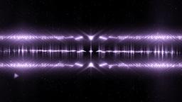 Audio Violet Equalizer Music Animation