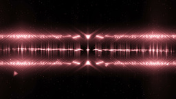 Audio Red Equalizer Music Animation