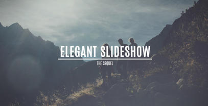 Elegant Slideshow 2 After Effects Template