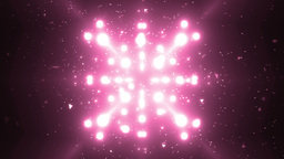 Abstract Pink Background Fractal Sun. VJ Loops Animation