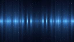 Audio Blue Equalizer Animation