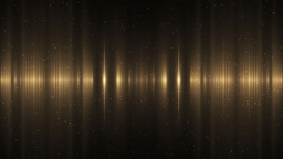 Audio Gold Equalizer Animation