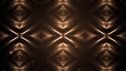 Fractal Orange Kaleidoscopic Background Animation