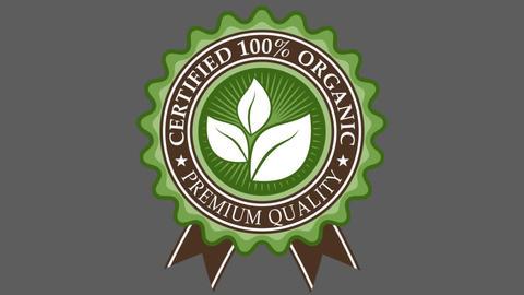Organic Badge 2 After Effectsテンプレート