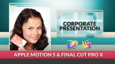 Corporate Presentation Apple Motion Template