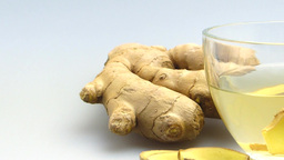 Ginger Tea stock footage