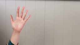 Hands using invisible touchscreen Live Action