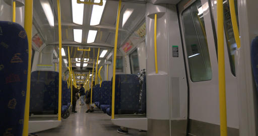 Carriage of Stockholm Subway Footage