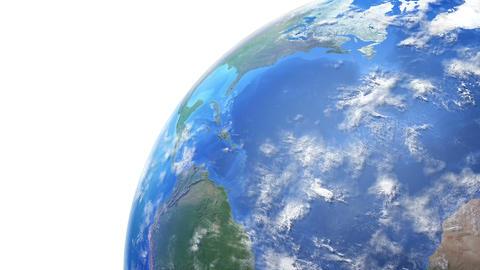 Earth w F 1day 4 K Animation