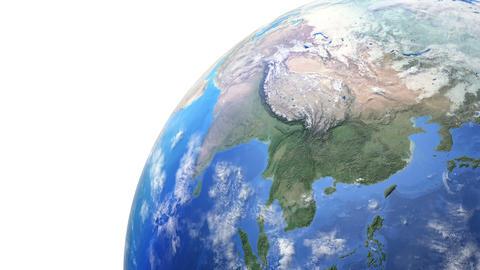 Earth w F 2day 4 K Animation