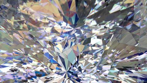 Diamond macro loop Animation