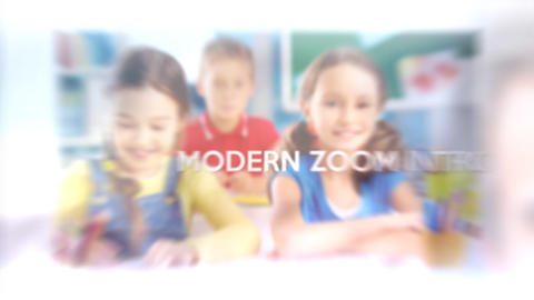 Modern Zoom Intro – After Effects Template After Effectsテンプレート