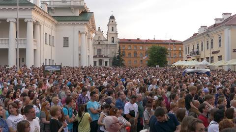 Ungraded: Huge Crowd at Concert Footage