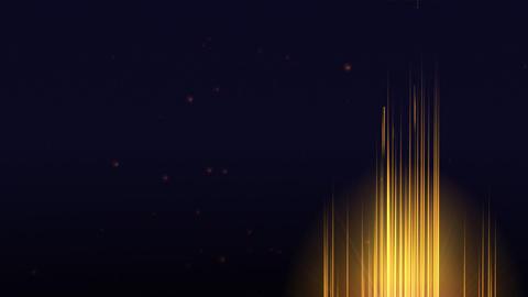 Orange Inferno Background Animation