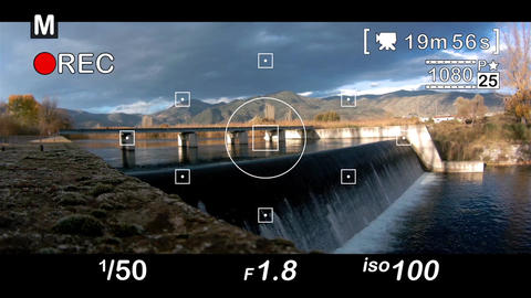 DSLR Video Recording Screen After Effects Template