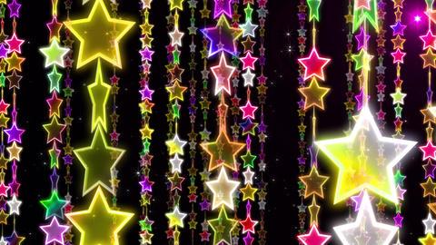 Chain line Star 1 Rf Sb 4 K CG動画素材