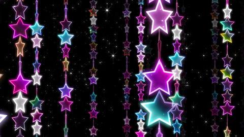 Chain line Star 1 Rn Sb 4 K CG動画素材