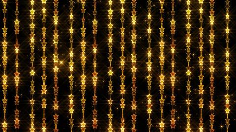 Chain line Star 1 Wy Ss 4 K CG動画素材