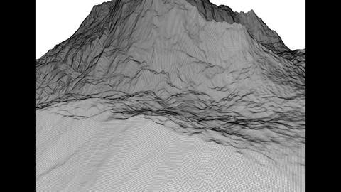Mountain Peak High Poly 3 D Model 3D Model