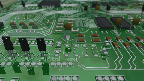 Circuit Board Forward Animation