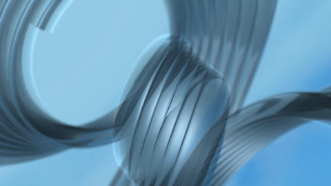 Blue Loops Background stock footage