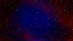 Simulated star galaxy Animation