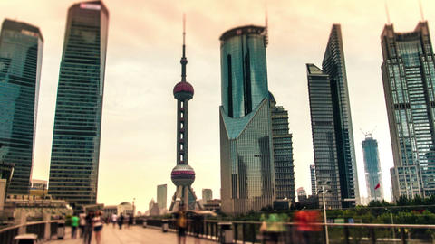 China. Shanghai stock footage