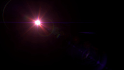 red lens flare 4k Stock Video Footage