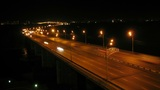 Krasnoyarsk City Night Trafffic Timelapse 02 Footage