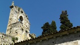 Ancient Christian Church in South Europe Footage