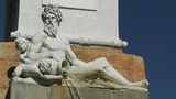 Antic European Fountain 02 Footage