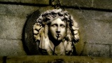 Antic European Fountain 04 sytlized Footage