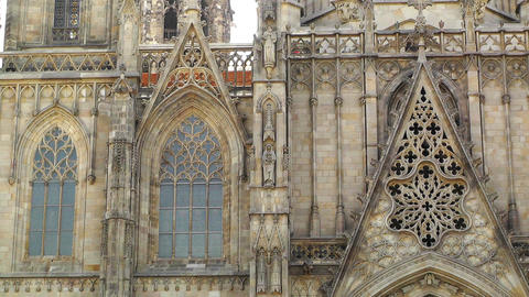 Barcelona Cathedral 06 Footage