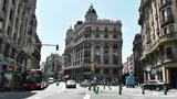Barcelona Via Layetana 01 Footage