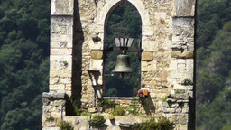 Bell Tower of an Ancient Christian Church stylized Footage