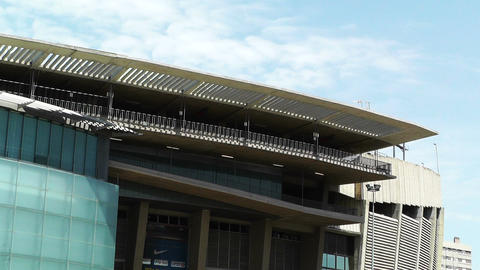 Estadi Camp Nou 06 Stock Video Footage