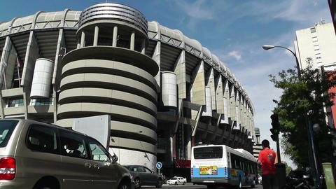 Estadio Santiago Bernabeu Madrid 02 Stock Video Footage