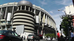 Estadio Santiago Bernabeu Madrid 02 Footage