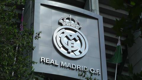 Estadio Santiago Bernabeu Madrid 06 Stock Video Footage
