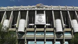 Estadio Santiago Bernabeu Madrid 10 Stock Video Footage
