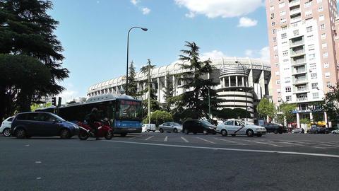 Estadio Santiago Bernabeu Madrid 12 Stock Video Footage