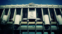 Estadio Santiago Bernabeu Madrid 14 stylized Footage