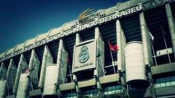 Estadio Santiago Bernabeu Madrid 16 stylized Footage